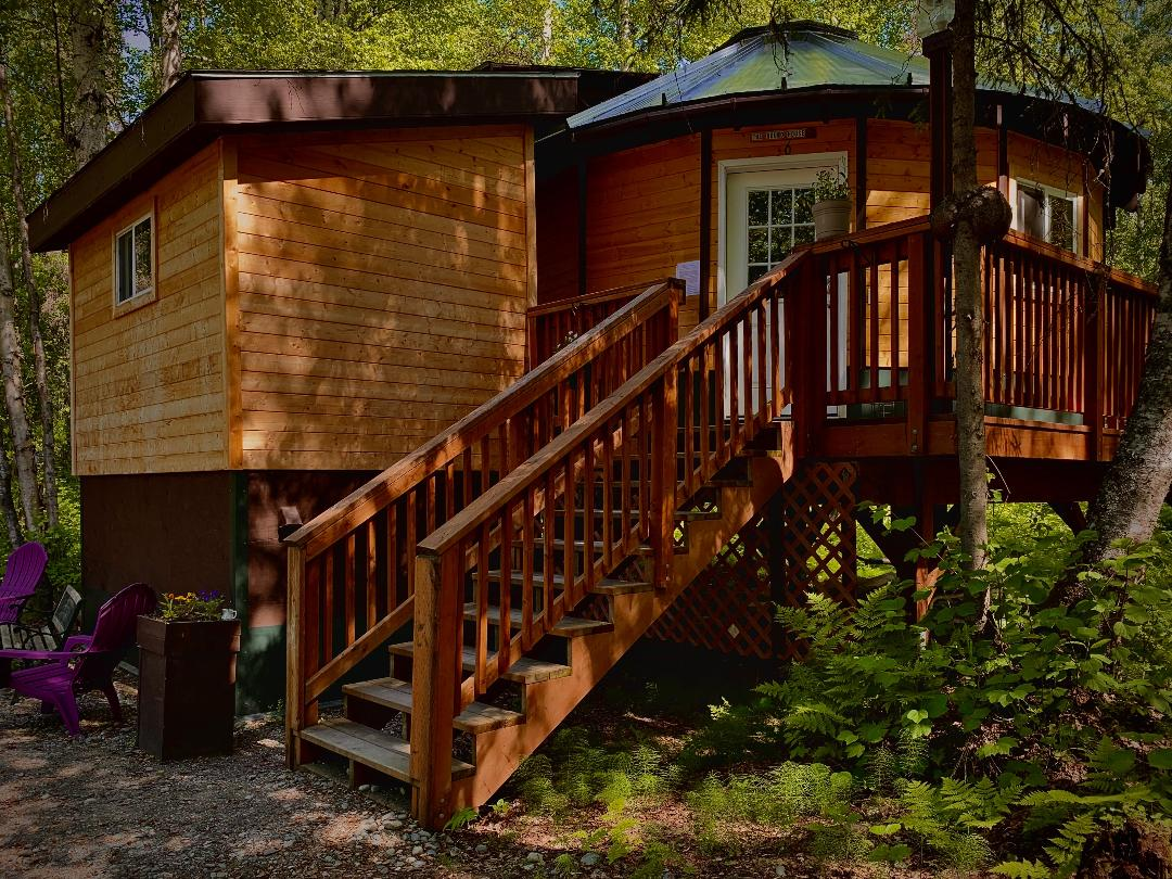 Cabin for rent in Talkeetna